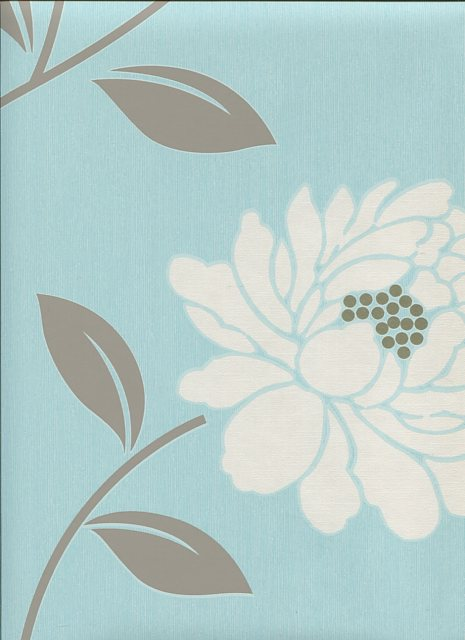 Feature Wallpaper Camille Duck Egg 30 016 6033437 By Dulux For 465x640