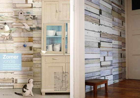 Scrap Wood Wallpaper Cool Material 570x400