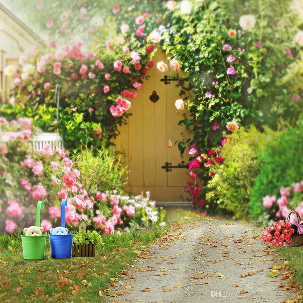 2018 Spring Flowers Garden Backgrounds For Wedding 1000x1000