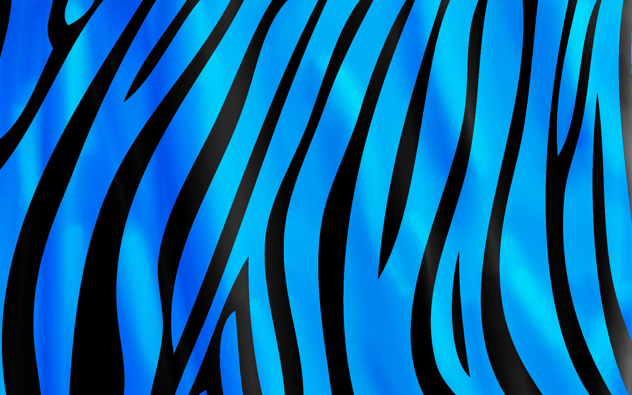 Zebra Background Celeste 1280x800