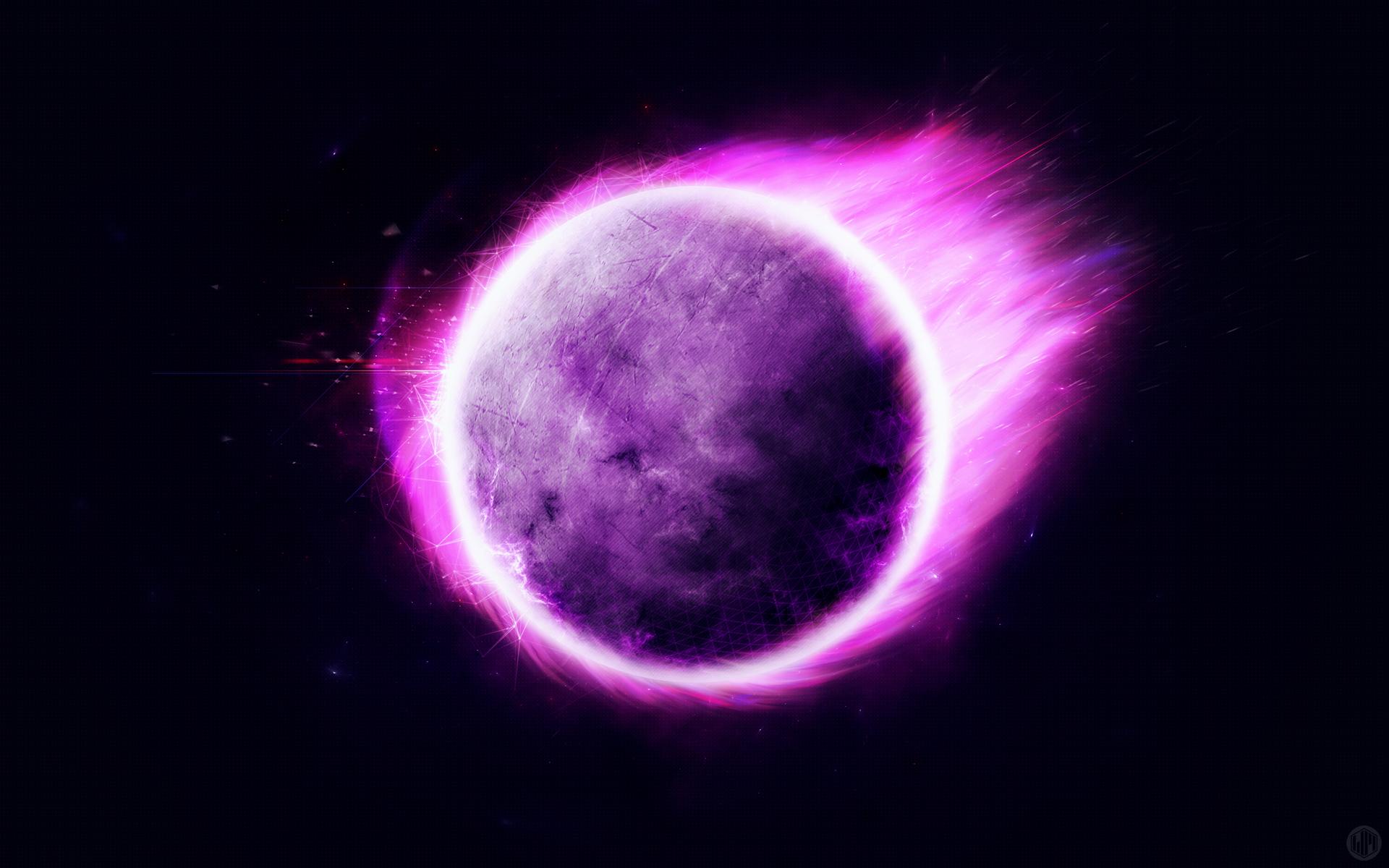 Strange Purple Planet HD Wallpapers 1920x1200