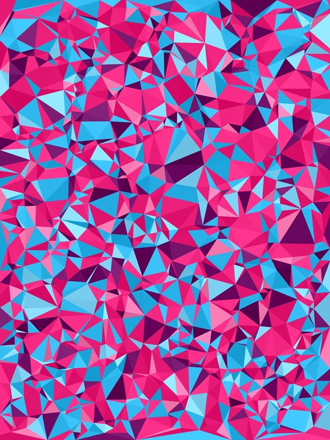 How to Create Your Own Abstract Polygon Shaped Wallpapers for Your 654x872