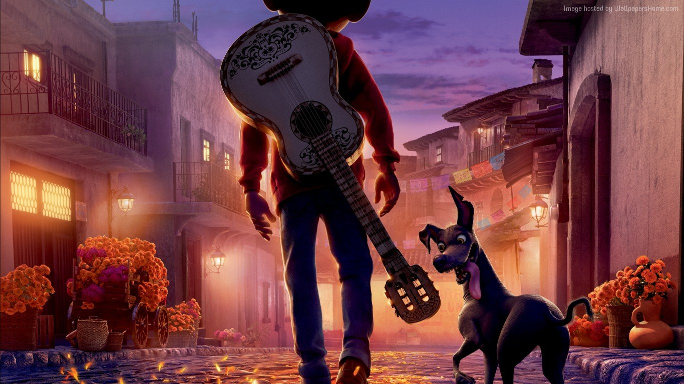 Disney Pixar Coco images Coco HD wallpaper and background photos 1366x768
