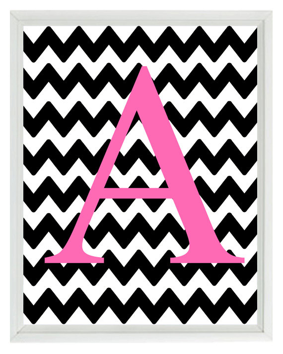 chevron initials wallpaper with o - photo #20
