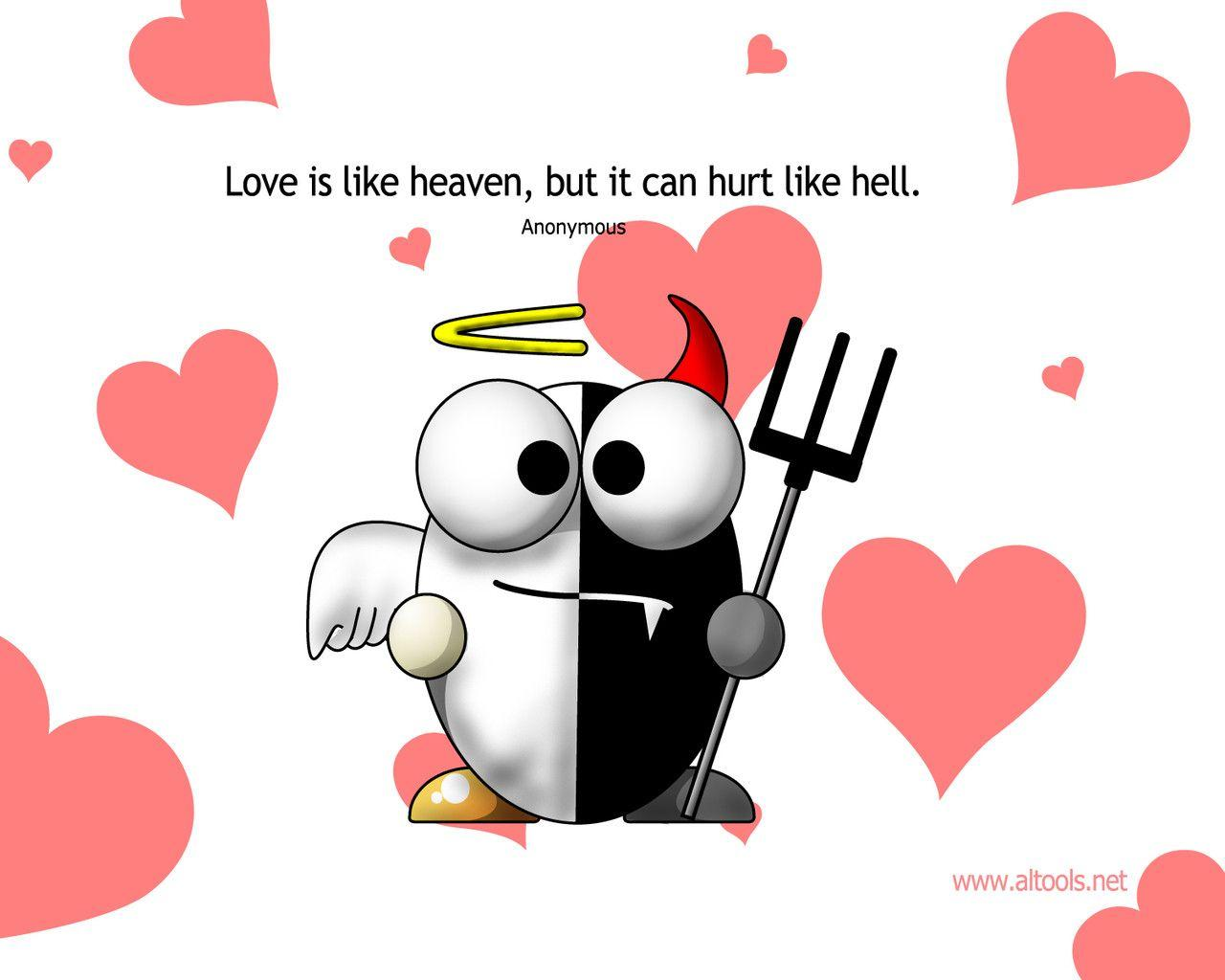 Funny Valentines Day Wallpapers 1280x1024