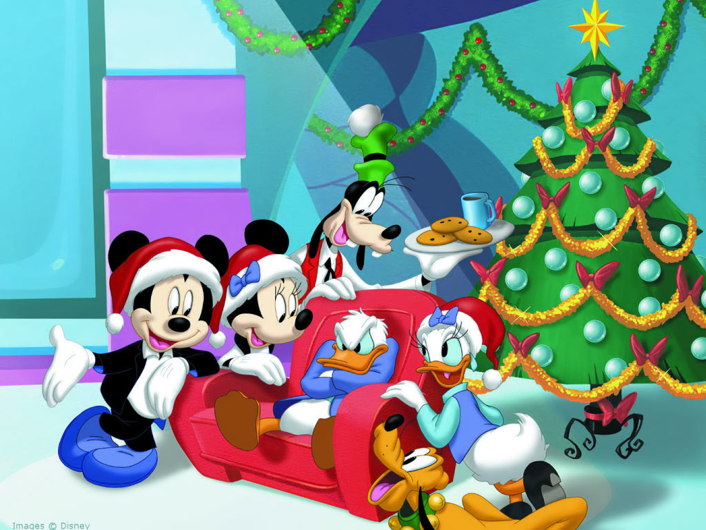 Disney Christmas wallpapers Disney Christmas background   Page 4 1024x768