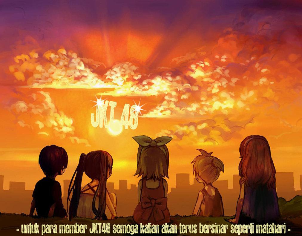 Jkt48 Anime Version II Wallpaper JKT48 1011x790