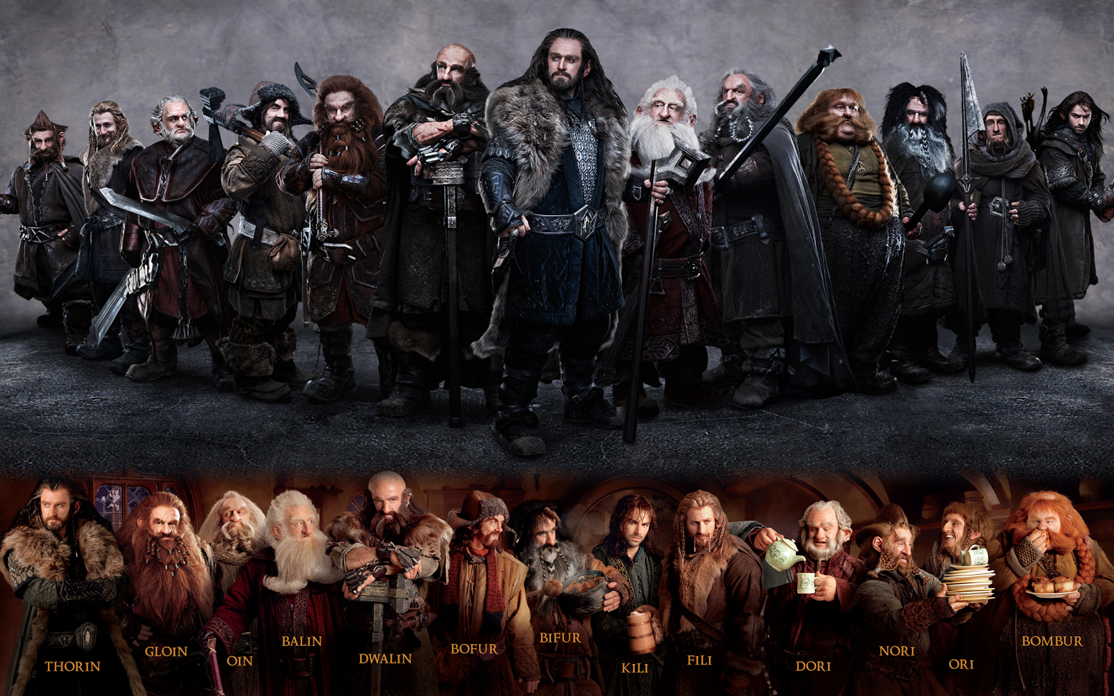 Captain Black Blade Taz Hobbit Withdrawal Dwarves DWARVES 1600x1000