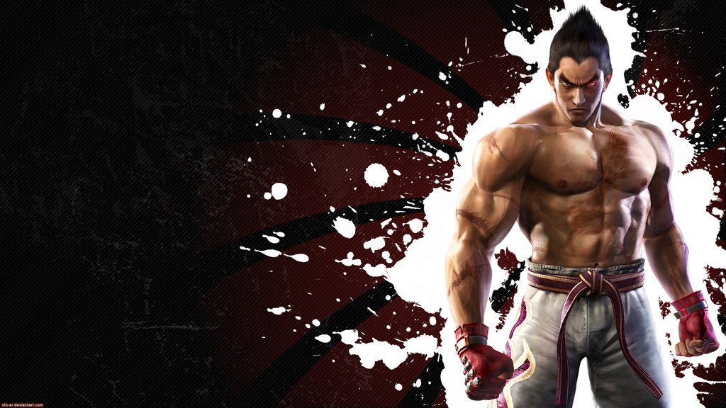 Tekken 6 wall Kazuya  Black by nin er 1024x576
