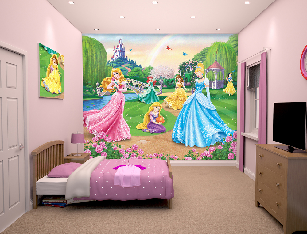 Disney Princess Wall Murals   Wall Murals Ireland 1000x764