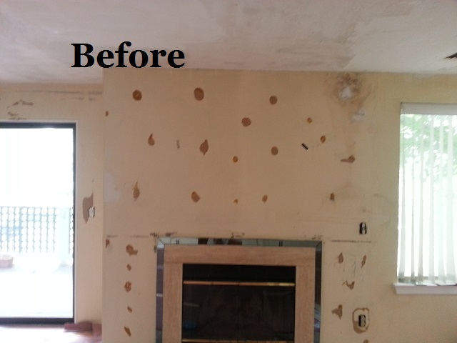 before painting after wallpaper removal 640x480