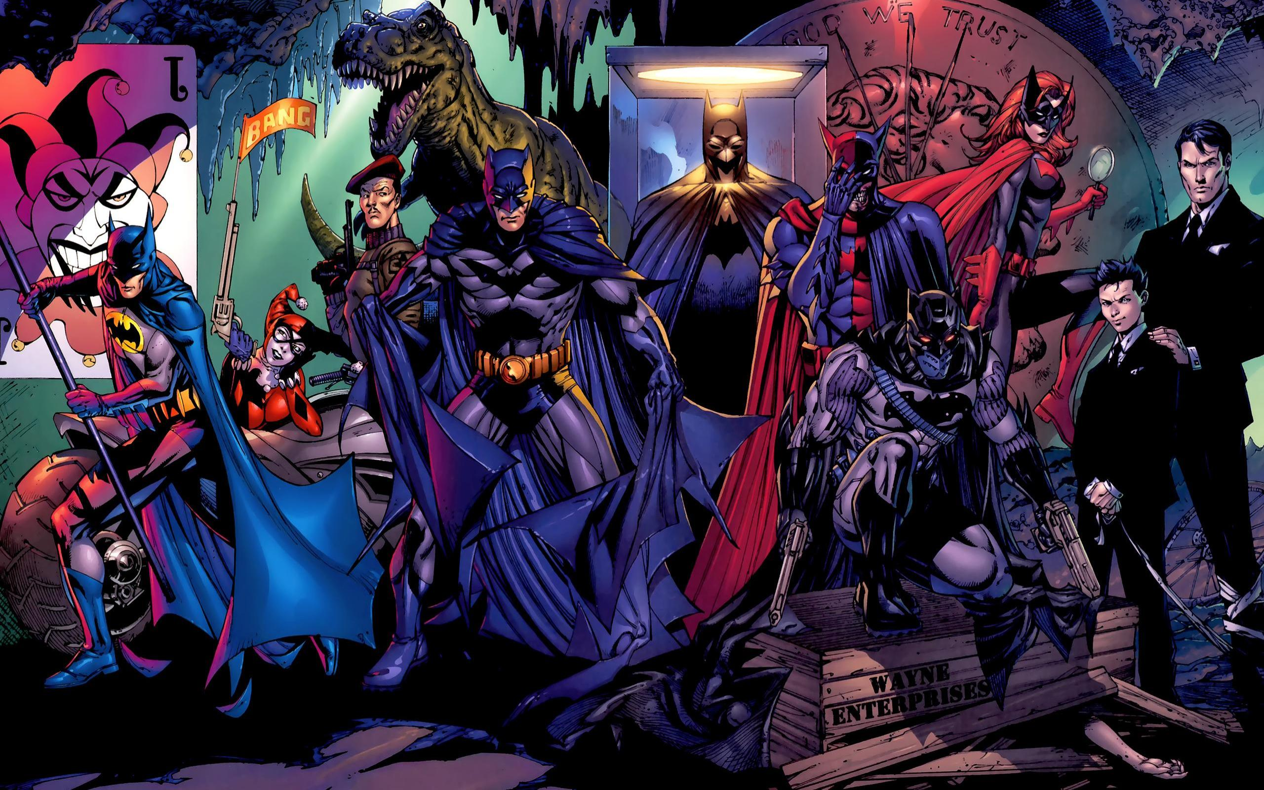 Batman DC Wallpaper 2560x1600 Batman DC Comics Harley Quinn 2560x1600