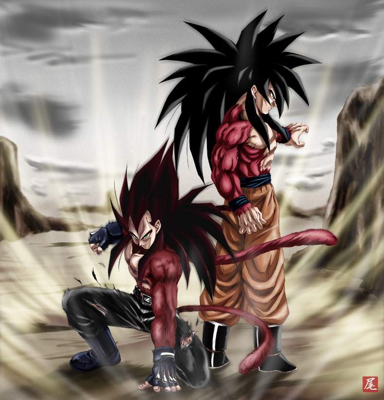 Ssj4 vegeta wallpaper wallpapersafari - Dragon ball gt goku wallpaper ...