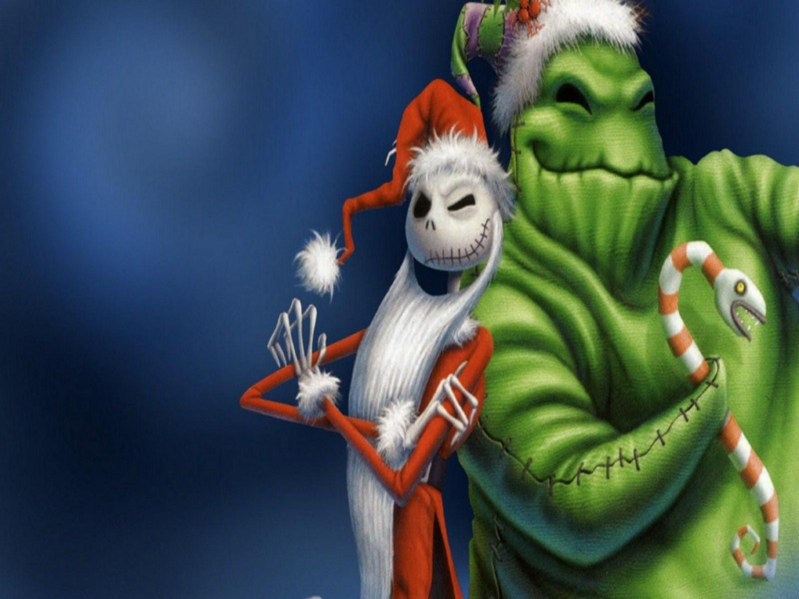 Nightmare Before Christmas IPhone Wallpaper