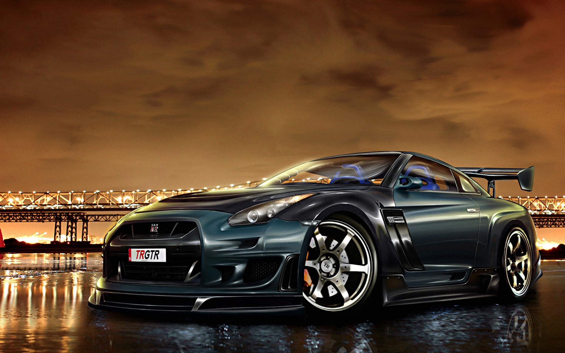 Super Cars Wallpapers vehicles that stun the people Nissan GT R 1920x1200