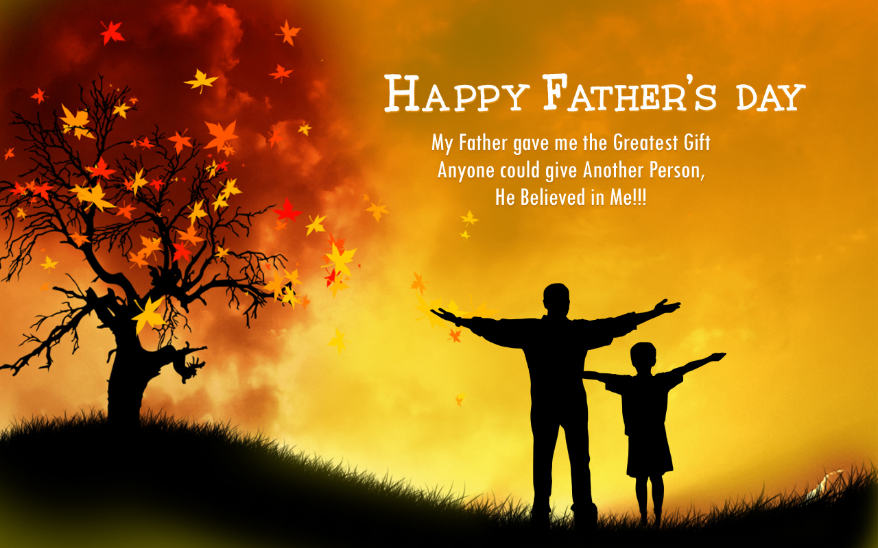 10 Happy Fathers Day HD Wallpapers 2014   Educational Entertainment 1280x800