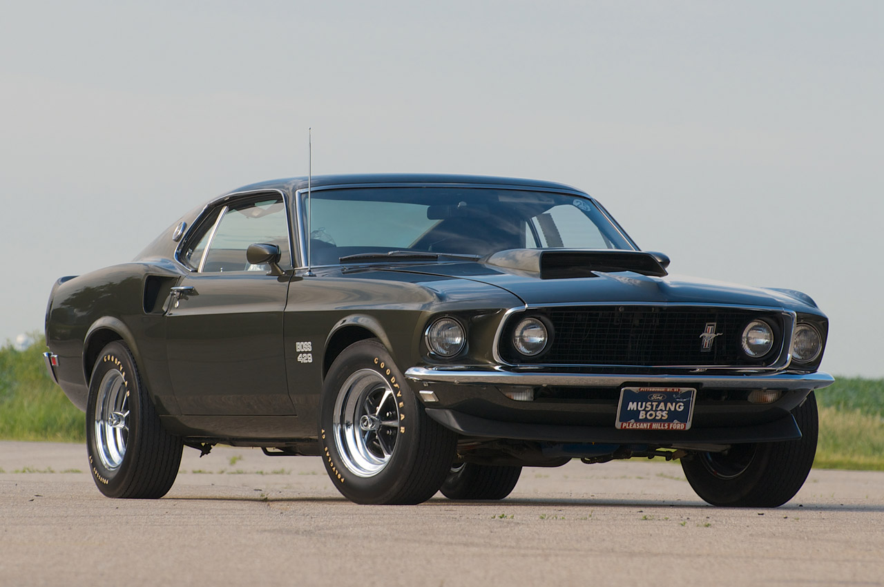 1969 mustang boss 429 wallpaper 1969 Ford Mustang Boss 429 Restoration 1280x850