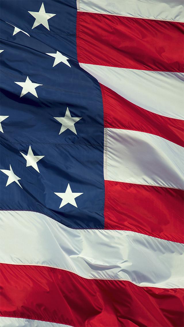 American Flag Illustration iPhone 5 Wallpaper iPod Wallpaper HD 640x1136