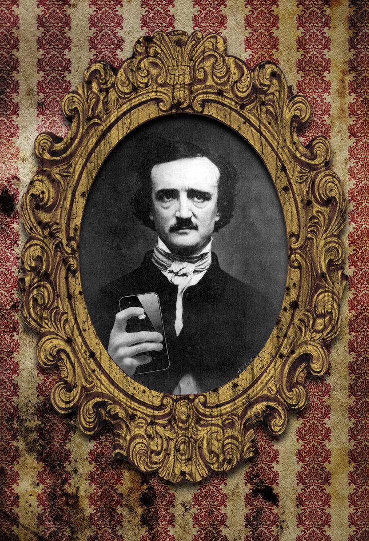 Edgar Allan Poe Selfie by VoodooHammer 739x1081