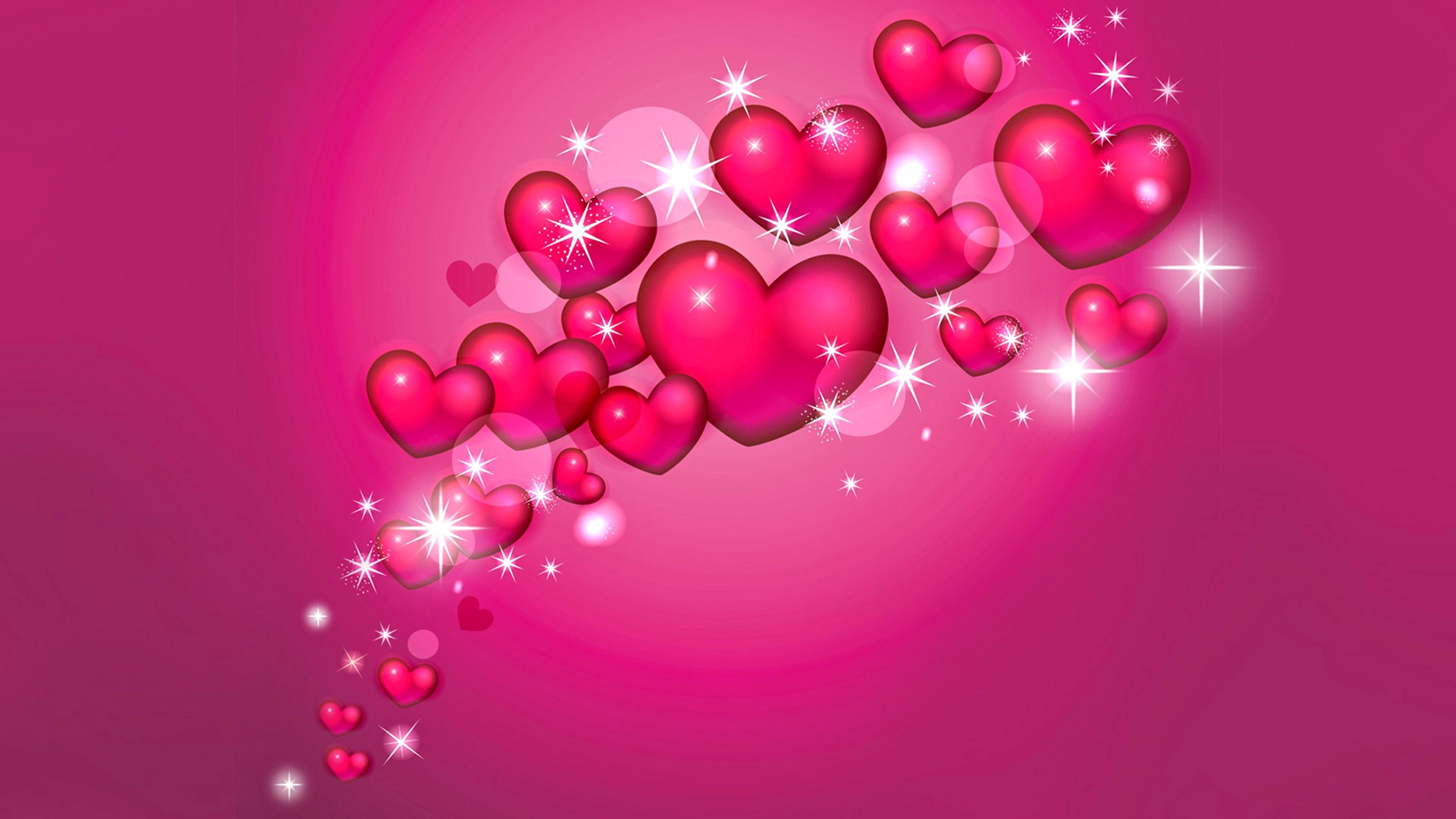 65 Hearts Background Wallpapers on WallpaperPlay 3840x2160