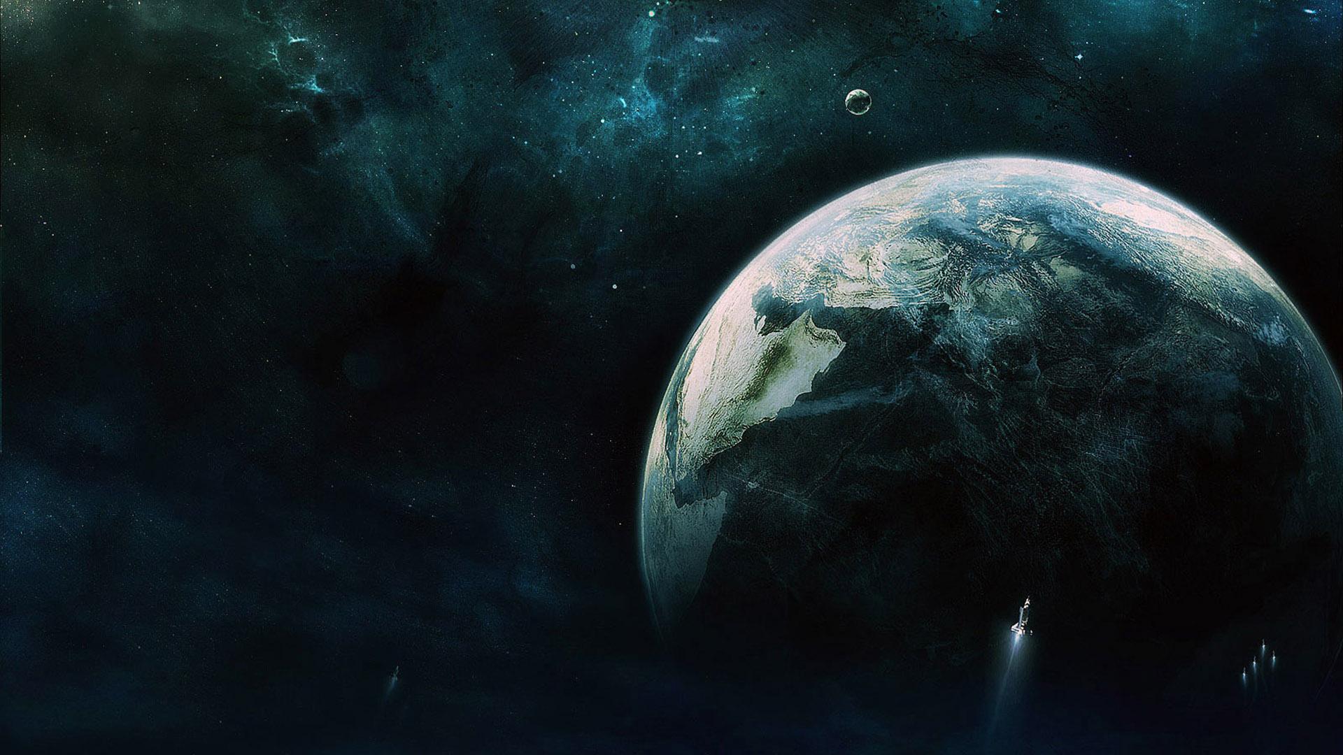 Обои космос планета корабль картинки на рабочий стол на тему Космос - скачать  № 3125500  скачать