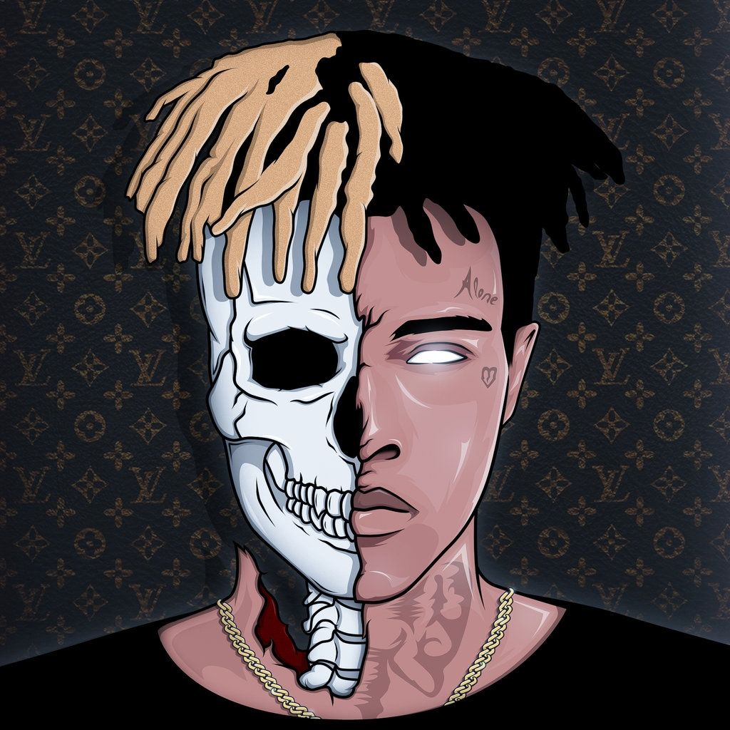 XXXTentacion Cartoon Wallpapers   Top XXXTentacion Cartoon 1024x1024