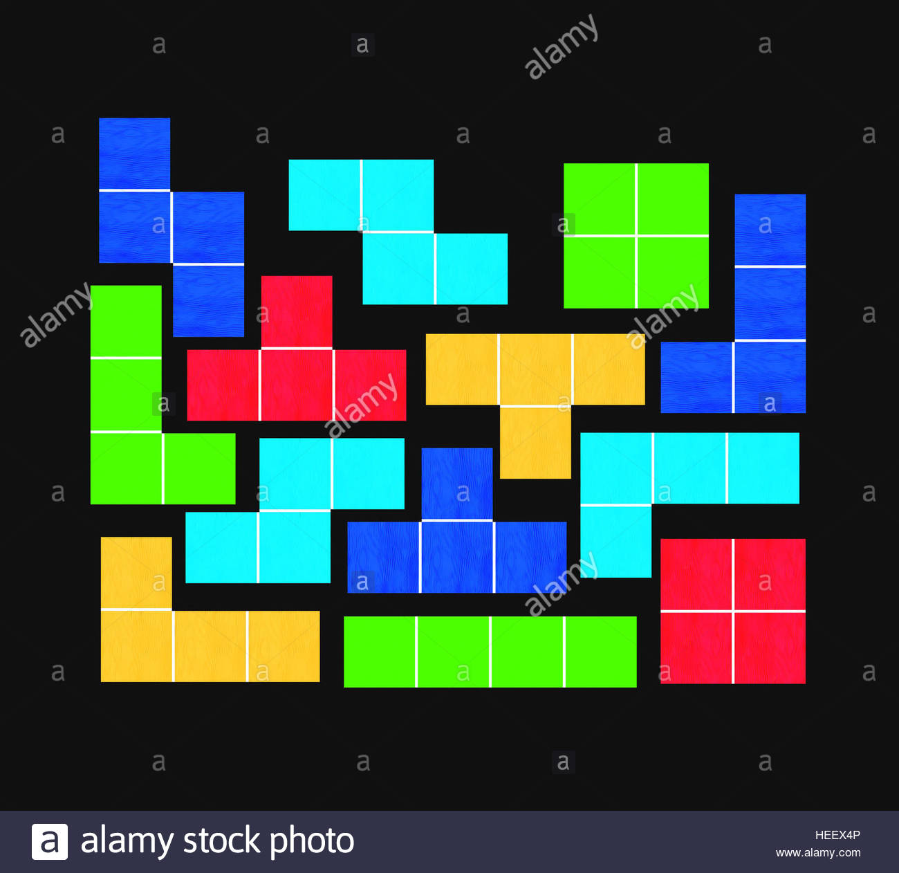 tetris game on black background   geometric shapes   puzzle game 1300x1262