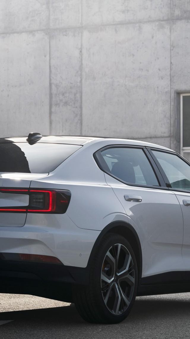 Wallpaper Polestar 2 2021 Cars electric cars Geneva Motor Show 640x1138