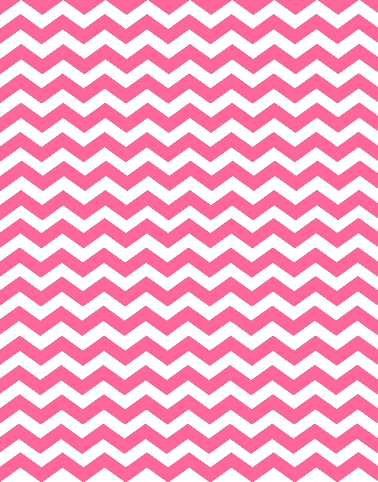 48 Pink And White Chevron Wallpaper On Wallpapersafari