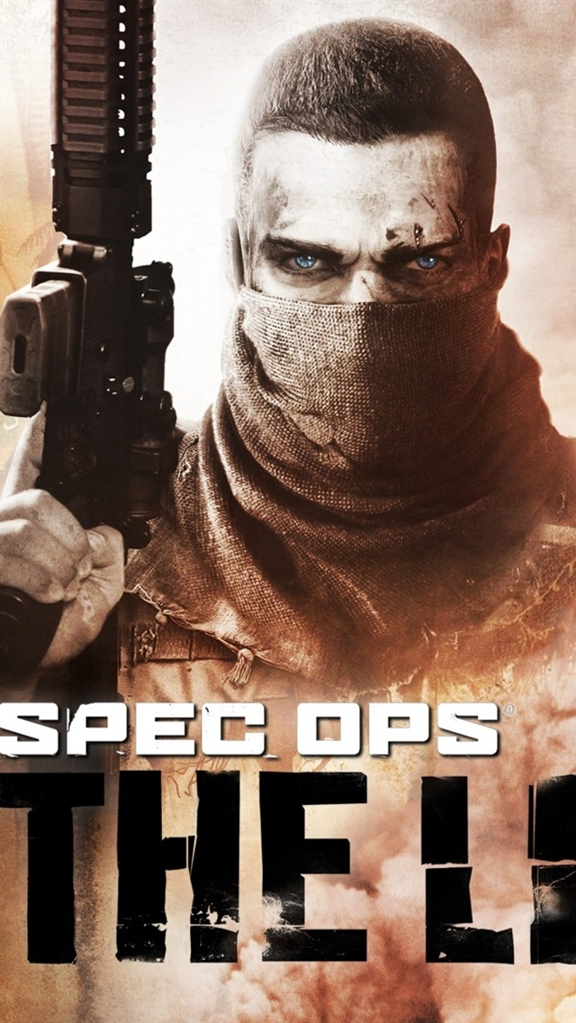 Spec Ops The Line 640x1136 iPhone 55S5CSE wallpaper 640x1136