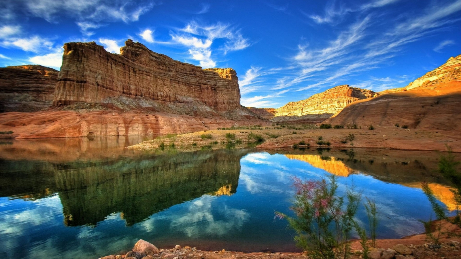 Canyon Colorado River HD Desktop Mobile Wallpaper Background   9walls 1600x900