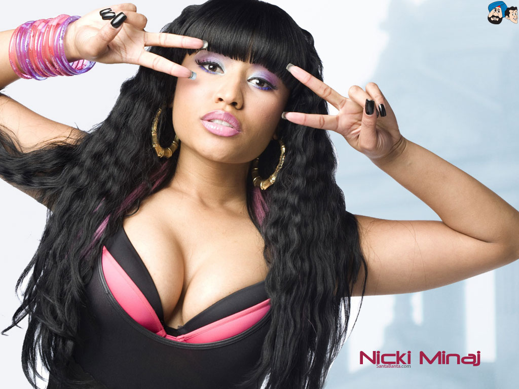 Nicki Minaj Wallpapers 1024x768
