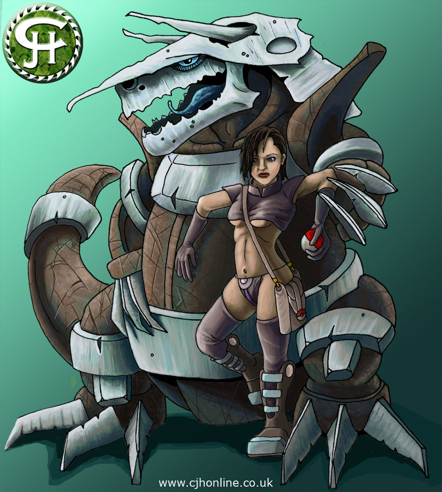 Pokemon   Aggron by cjhonline 900x1000