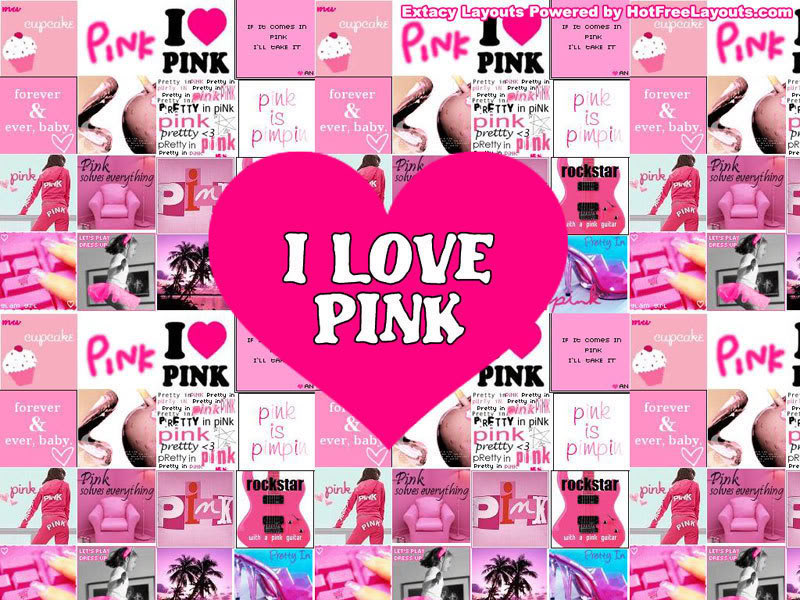 love pink wallpaper - photo #31
