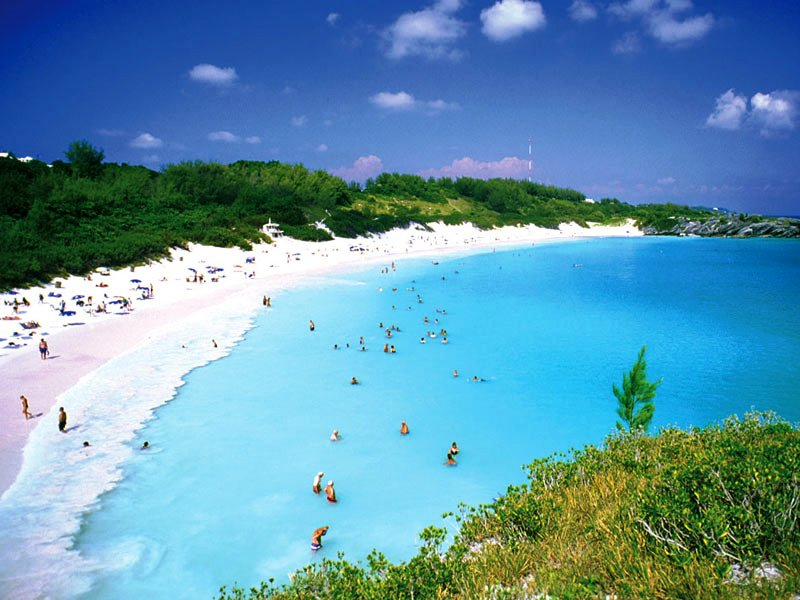 Bermudas Gorgeous Pink Sand Beaches 800x600
