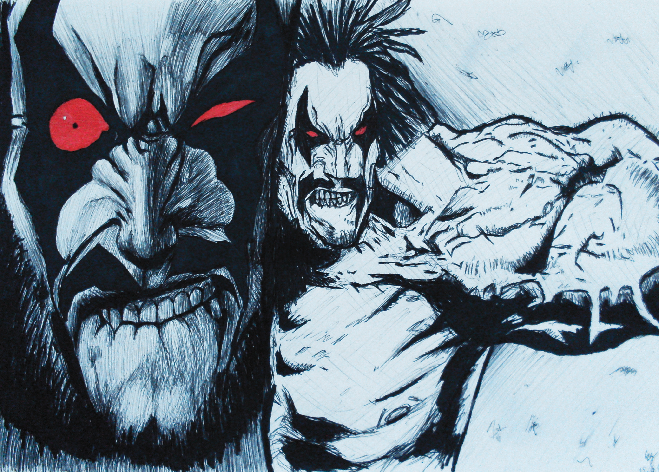 Lobo DC Comics Wallpapers Images TheCelebrityPix 2736x1960