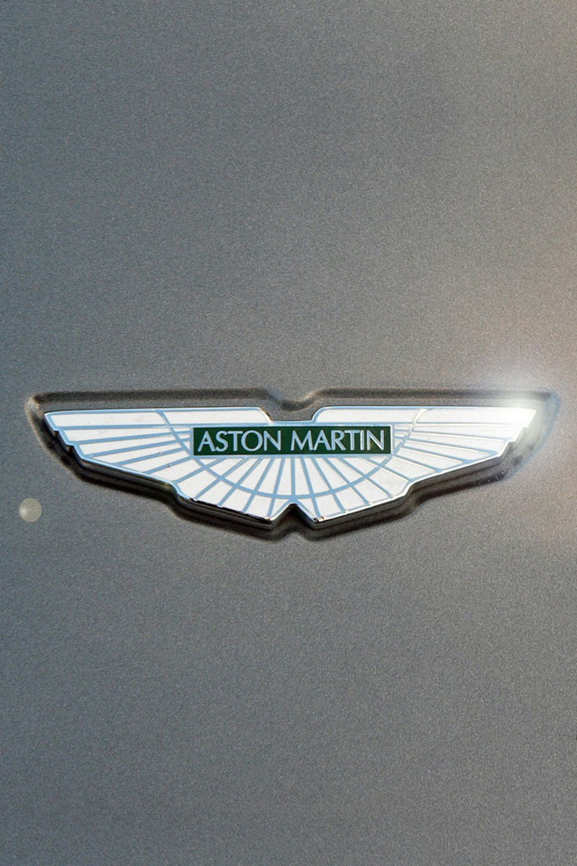 Aston Martin Logo iPhone Wallpaper HD   Download iPhoneWalls 640x960