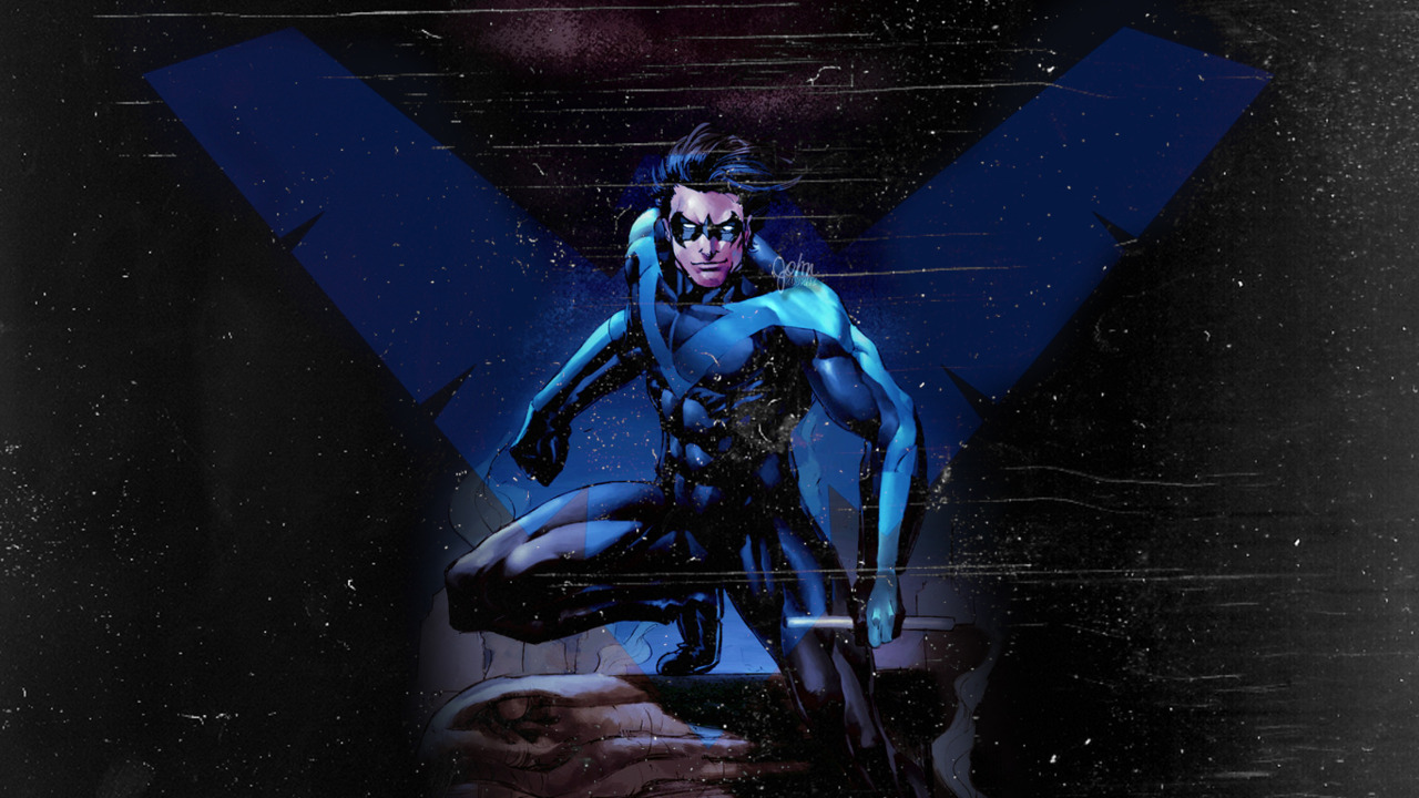 Nightwing Wallpaper 1280x720