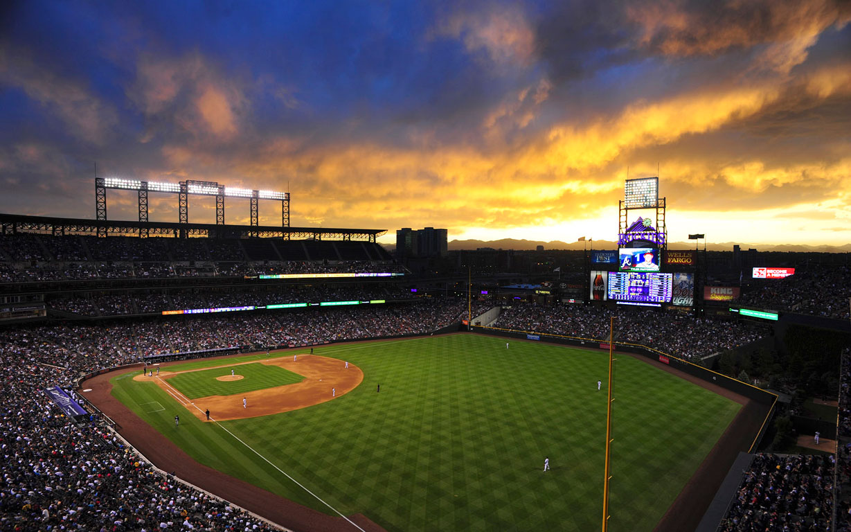 Baseball Field Wallpaper Hd Images amp Pictures   Becuo 1229x768