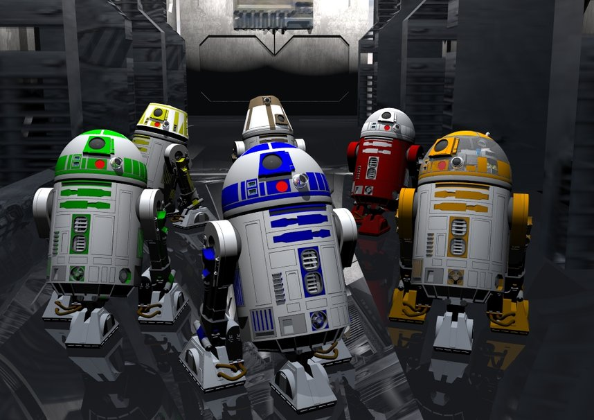 Back Gallery For R2d2 Wallpaper 858x606