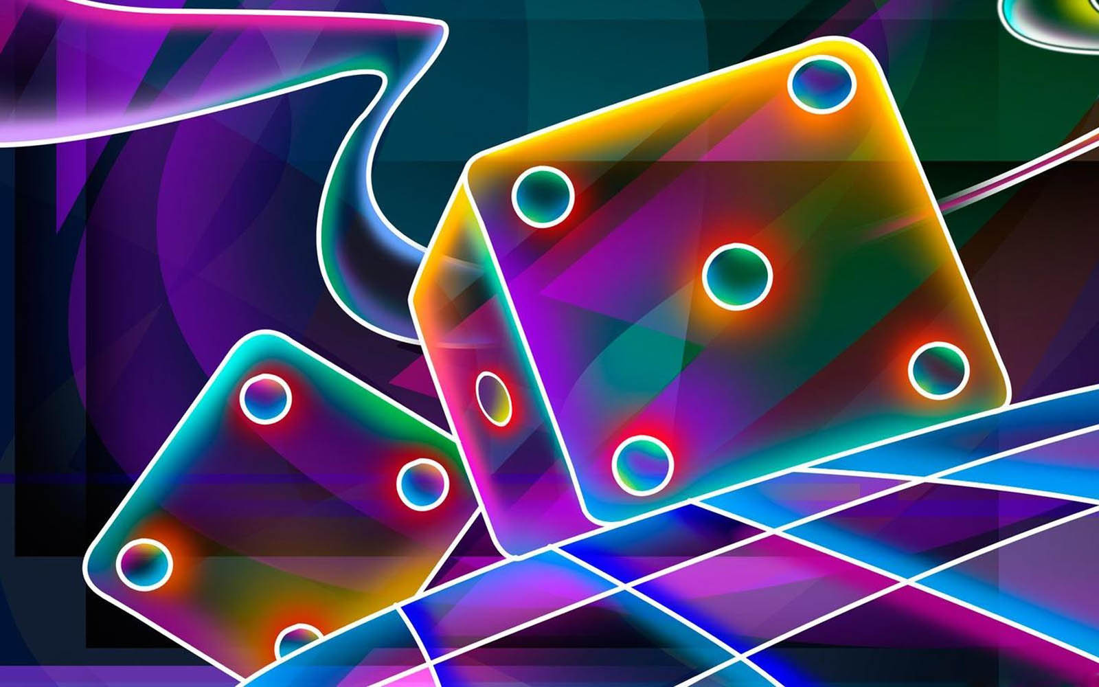 wallpapers Neon Art Wallpapers 1600x1000
