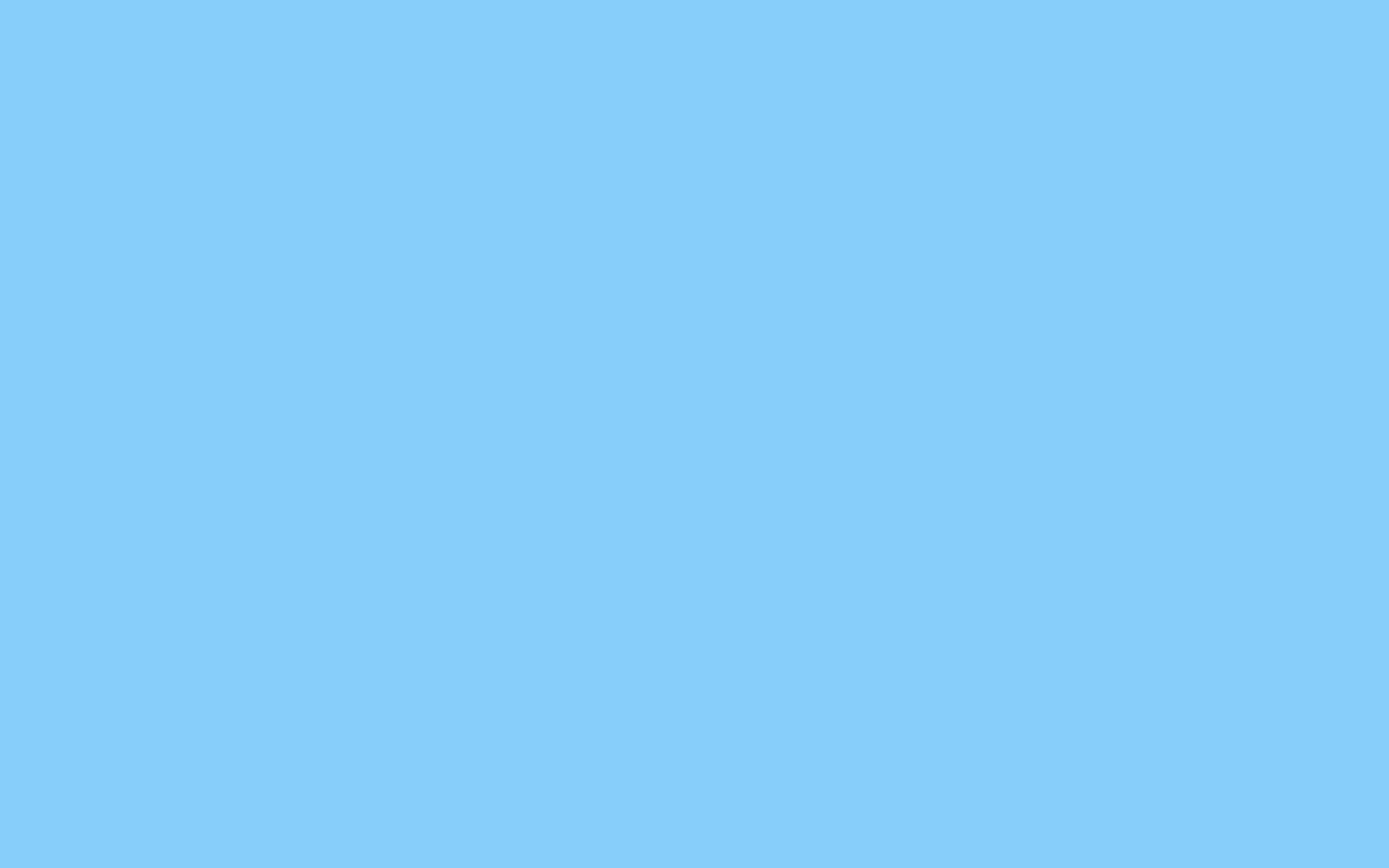 2880x1800 resolution Light Sky Blue solid color background view 2880x1800