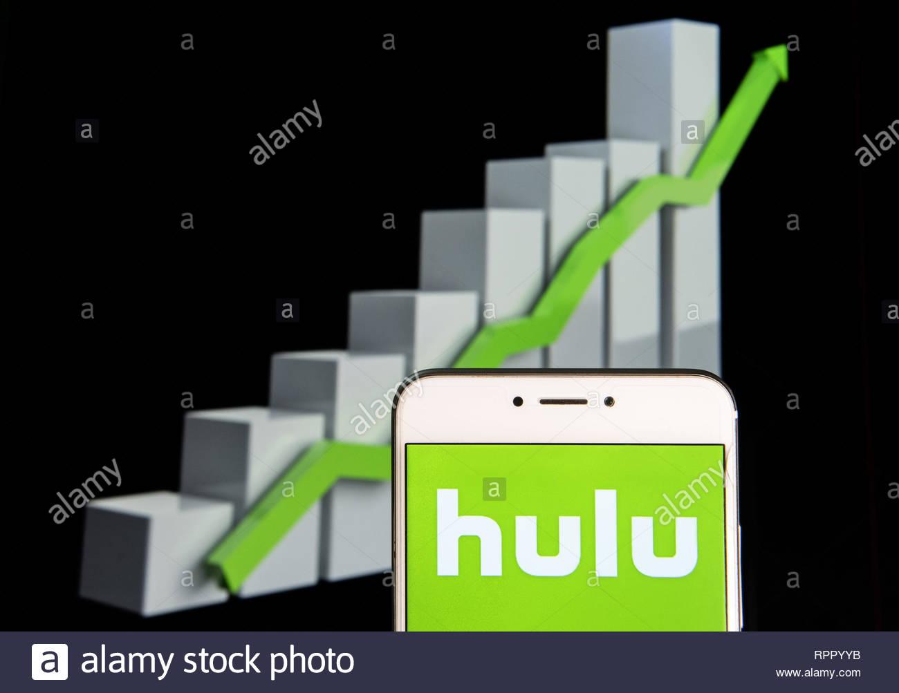 Hulu App Stock Photos Hulu App Stock Images   Alamy 1300x1003