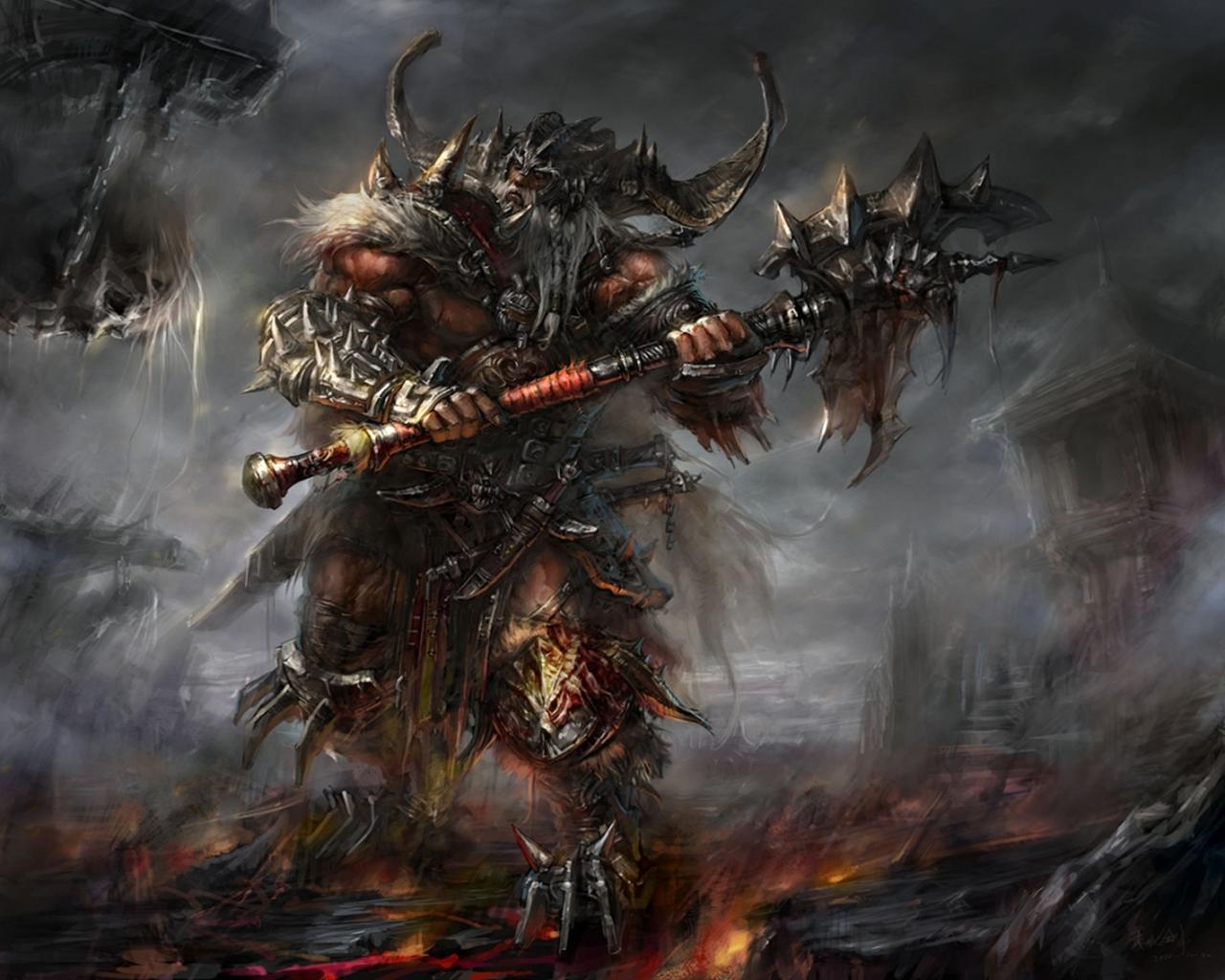 Diablo III Wallpaper 1280x1024