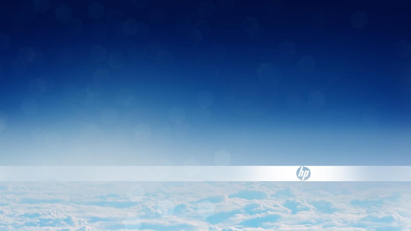 1366x768 HP clouds desktop PC and Mac wallpaper 1366x768