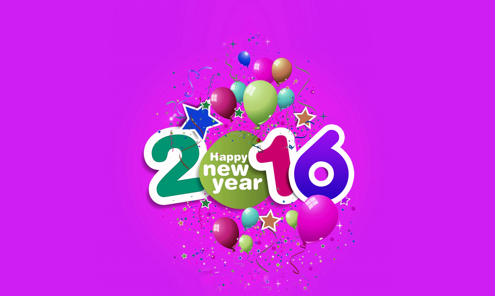Happy New Year Wallpapers 2016 Photos amp Pictures Live HD 1600x958