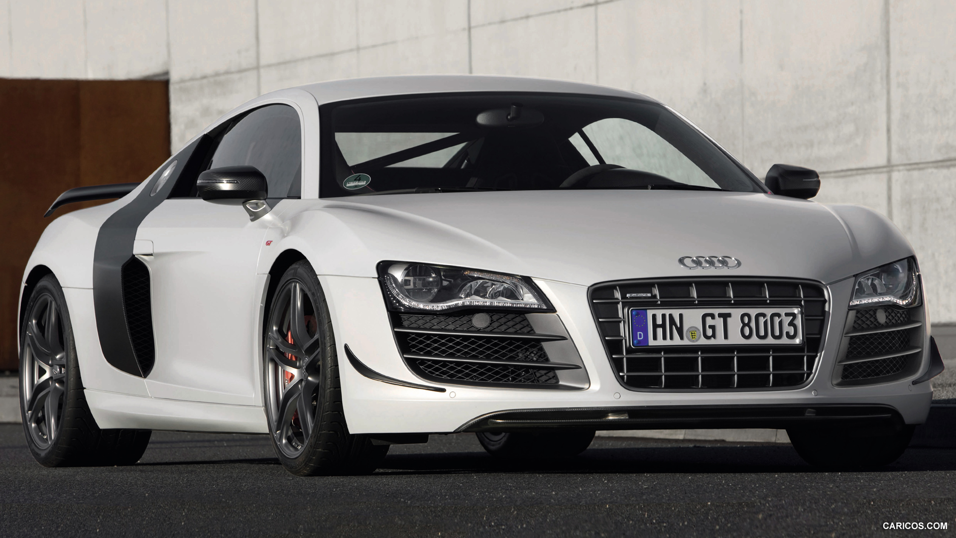 2011 Audi R8 GT   Front Angle HD Wallpaper 1 1920x1080