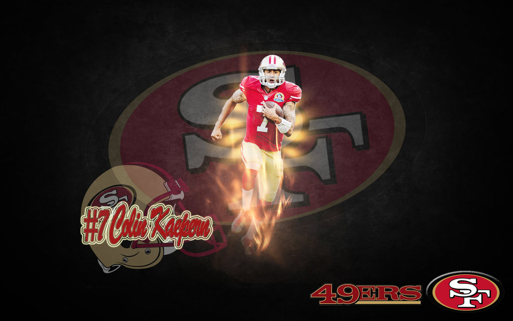 San Francisco 49ers Colin Kaepernick by TheHoodgirl on 1024x640