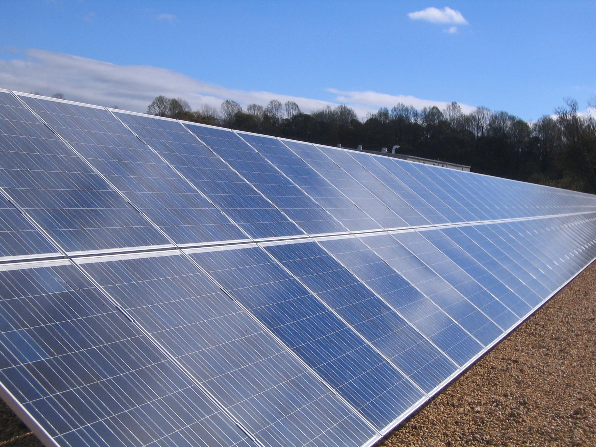 48 Solar Panels Wallpaper On Wallpapersafari