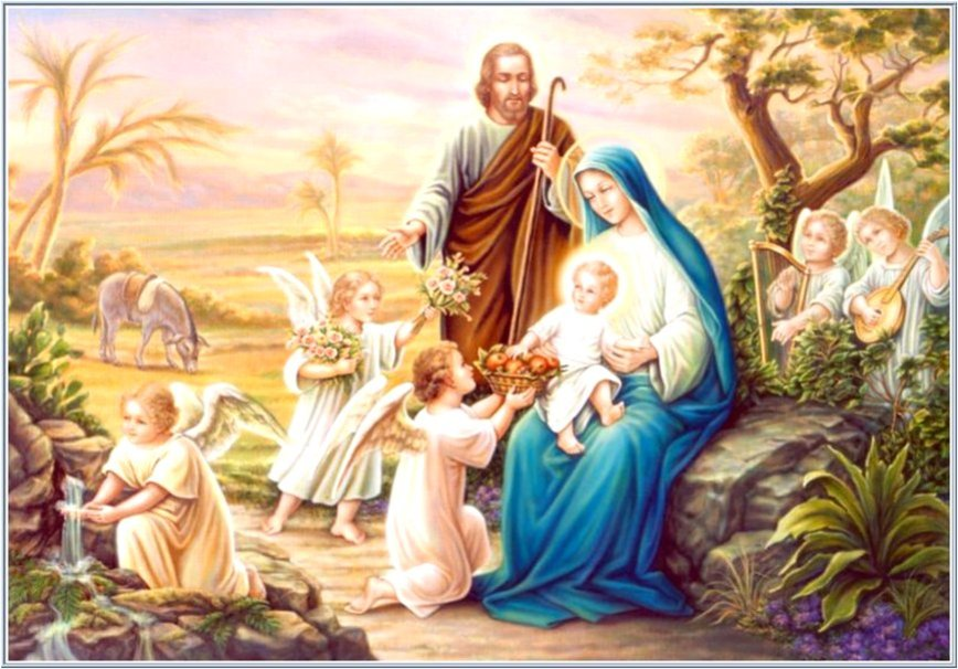 Holy family wallpaper   ForWallpapercom 868x606